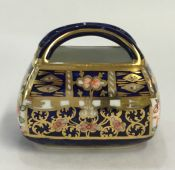 Royal Crown Derby Imari Derby Witches Miniature Basket