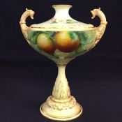 Antique Royal Worcester Cabinet Vase