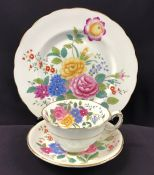 "George Jones & Sons/Crescent China, Swansea ""Garden Club"" Pattern #33137"