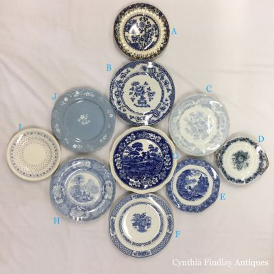 Antique & Vintage Plate Wall