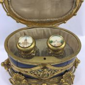 Antique French Perfume Casket Box