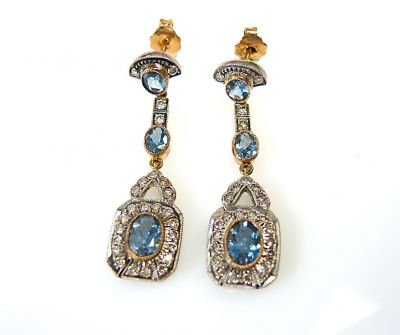 Aquamarine Earrings CFA1312294