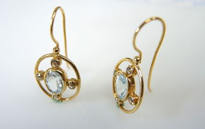 Aquamarine Earrings CFA1312295