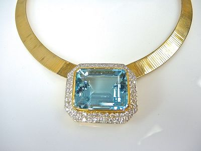 Aquamarine Necklace CFA1403247