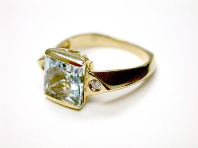 Aquamarine Ring CFA1404470