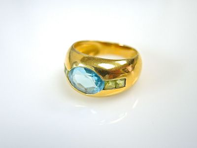 Aquamarine Ring CFA1404626