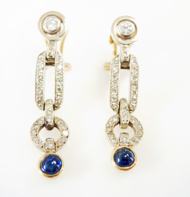 Art-Deco-Inspired-Sapphire-and-Diamond-Drop-Earrings-CFA161137-82814