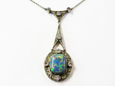 Art-Deco-Opal-and-Diamond-Pendant-CFA1404450-77623a