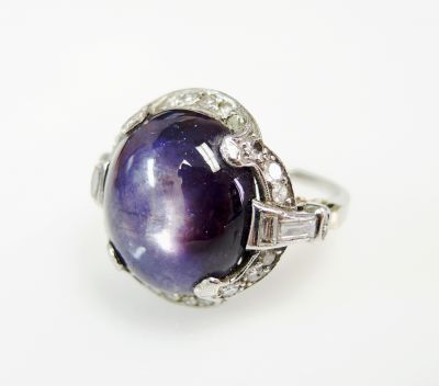 Art-Deco-Purple-Star-Sapphire-and-Diamond-Ring-CFA1602143-80670