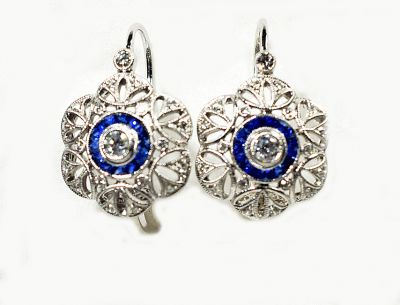 Art-Deco-Style-Diamond-and-Sapphire-Earrings-AGL81076-85113aa