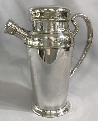 Art Deco Birks Sterling Silver Cocktail Shaker 3