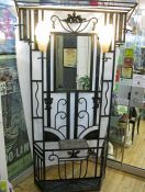 Art Deco Hall Stand