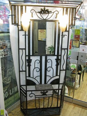Art Deco Hall Stand f