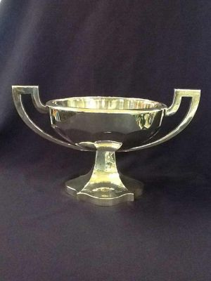Art Deco Silver-plated Trophy