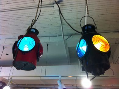 Vintage Railway Lights