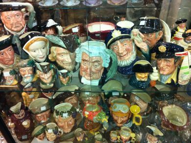 Assorted September 2011/royal doulton toby jugs