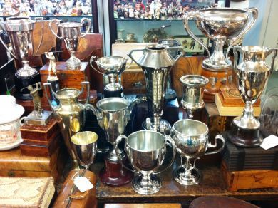 Assorted September 2011/silver Trophies