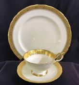 "Aynsley ""Heritage"" Pattern #8367 Dinner Service For 12 with Extras"