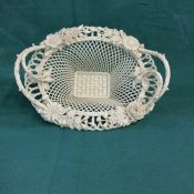 Belleek Henshall Twig Basket