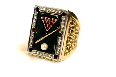 Billiard-Table-Enamel-Diamond-Ruby-Pearl-Ring-JRD001