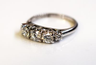 Birks Vintage Diamond Ring
