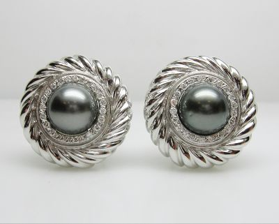 Black Tahitian Cultured Pearl