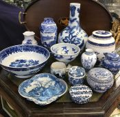 Blue and White Ceramics Collection