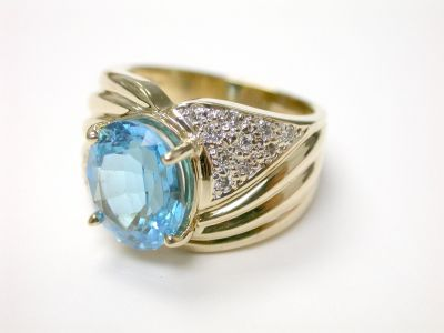 Blue Topaz Ring CFA1404412