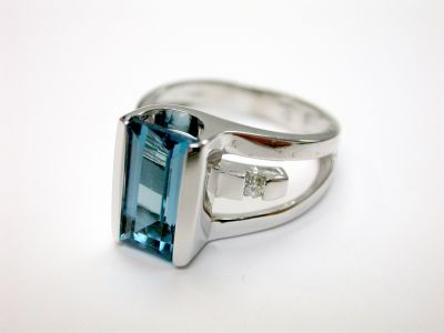Blue Topaz Ring CFA1406170