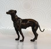 Bronze Study of a Dog