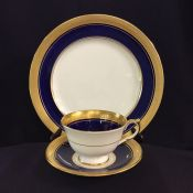 Buckingham Cobalt - Smooth by Aynsley
