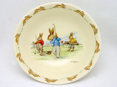 Bunnykins Bowl 1 Cynthia Findlay Antiques
