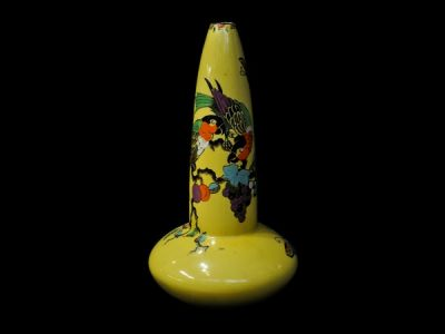 Bursley Parrot Vase
