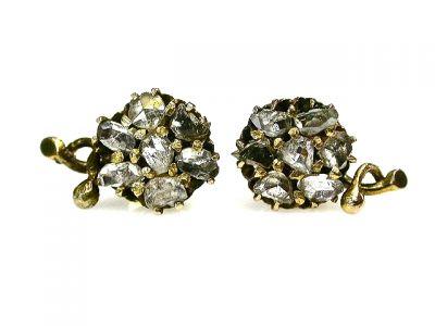 CFA 2014/Antique Diamond Earrings CFA1207217 68491