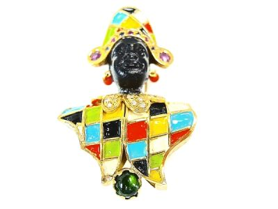 Blackamoor Brooch