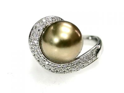 CFA 2014/South Sea Pearl and Diamond Ring Cynthia Findlay Antiques CFA121075 69138