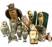 Charming Antique & Vintage Owls