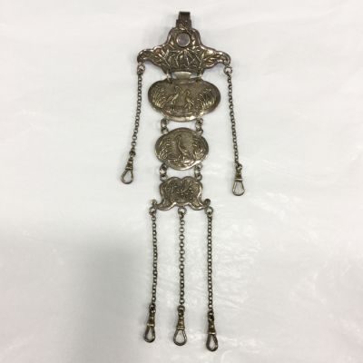Chinese Silver Chatelaine 19th Century