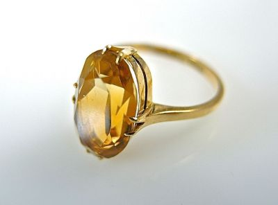 Citrine Ring CFA1403277