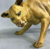 Coalport Bone China Lioness Figure