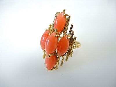 Coral Cluster Ring CFA1403276
