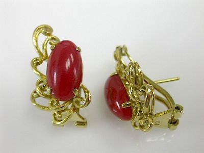 Coral Earrings CFA131106