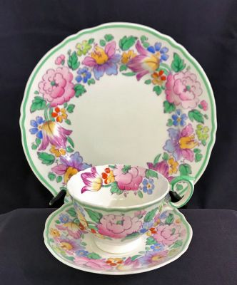 Crown Staffordshire Dinner Service