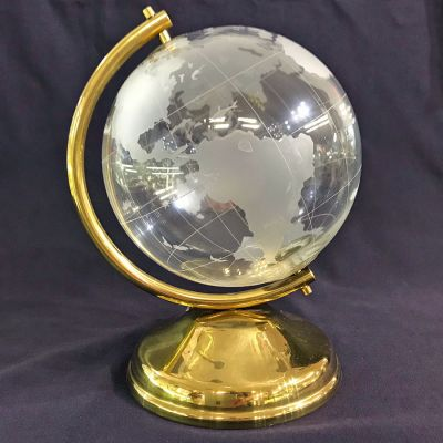 Crystal Globe Made In The Czech Republic 2