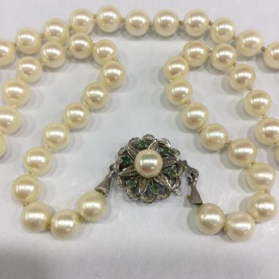Cultured Pearl Necklace b