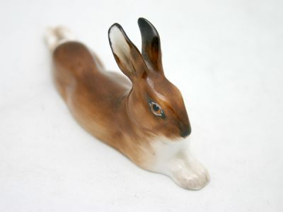 Dashing Brown Hare 1 Cynthia Findlay Antiques