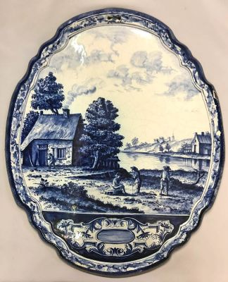 Delft Plaque, 19th Century