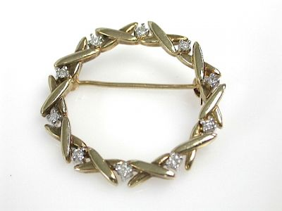 Diamond Brooch CFA1310216