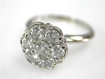 Diamond Cluster Ring CFA1309133