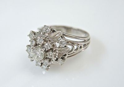Diamond Cluster Ring CFA1405173